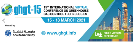 GHGT-15: 15th International Conference on Greenhouse Gas Control Technologies